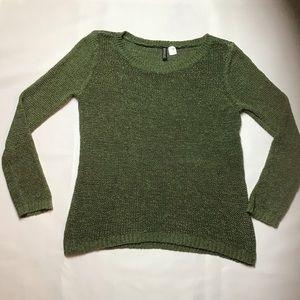 H & M- Slouchy, Crew Neck Sweater